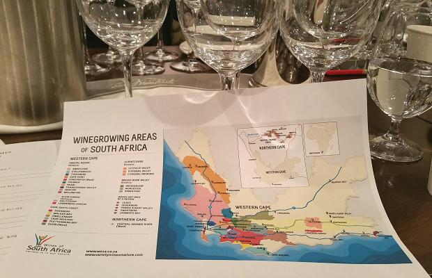 Winegrowing regions of South Africa