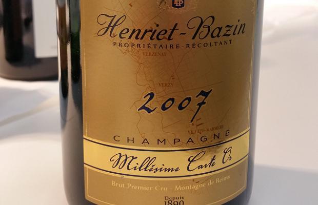 Henriet Bazin Champagne 2007