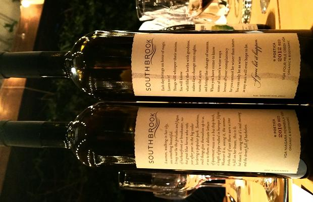 Southbrook Vineyards Poetica Red 2010 and 2012