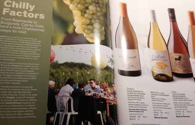 Photo © Stephen Elphick and Associates Cool to be Cool. Godello, Nicholas Pearce, Ben Macphee-Sigurdson, Zoltan Szabo and Tony Aspler at Barrels & Bonfires, 13th Street Winery, Cool Chardonnay 2014. From #VINTAGES Magazine