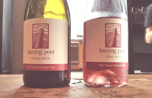 Leaning Post Gamay 2013 and Rosé 2014