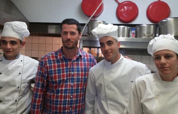 Godello and the talented young chefs of Nautiko, Rio-Patras