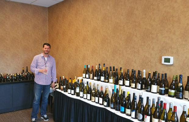 Godello in the media room, White Oaks Conference Resort and Spa