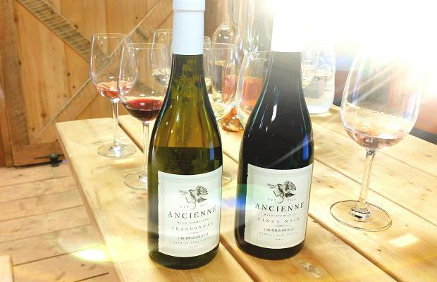I see the light. Innaugaural releases of Lightfoot and Wolfville's Ancienne Chardonnay and Pinot Noir 2013