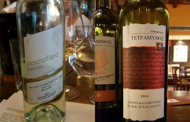 Kotrotsos Moschofilero Erasmios 2014 and Tetramythos Mavro Kalavryta 2014
