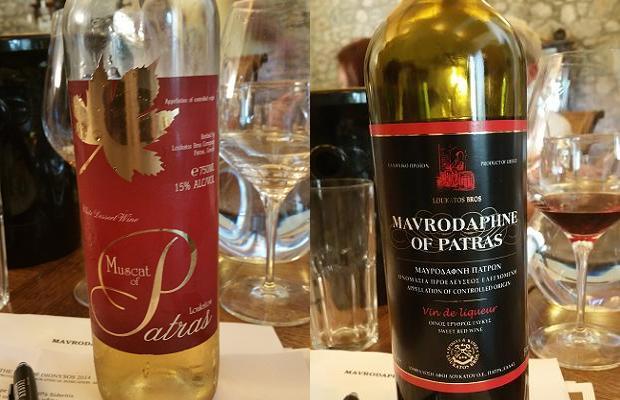 Loukatos Muscat of Patras and Mavrodaphne of Patras