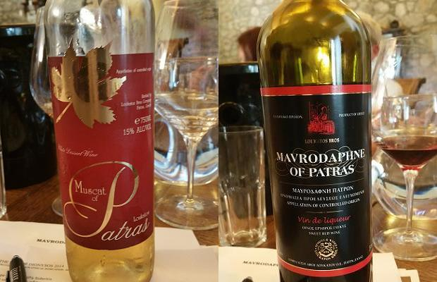 Loukatos Muscat of Patras and Mavrodaphne of Patras
