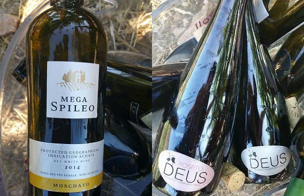 Mega Spileo Moschato 2014 Deus and Deus Rose