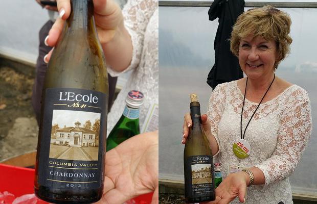 Megan Clubb of L'ecole 41 Wines
