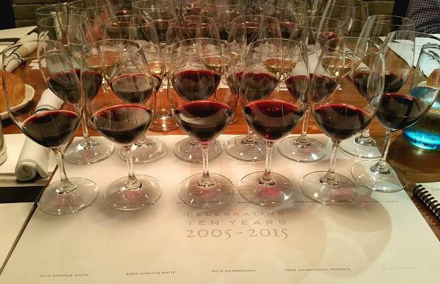 Stratus 10-year anniversary tasting