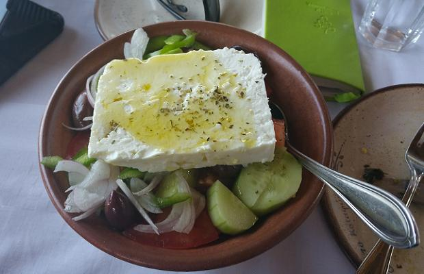 The Greek Salad, To Katafygi, Egialia, Achaia