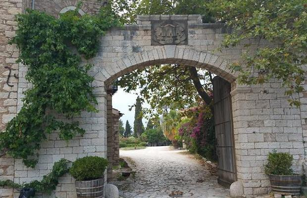 Gate to Achaia Clauss Winery, Achaia