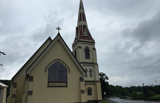 St. James Anglican Church. Mahone Bay, Nova Scotia