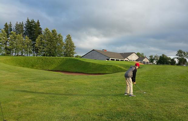Par 5, 18th at Dundarave Golf Course, PEI