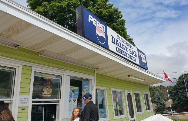 St. Eleanor's Dairy Bar, Summerside, PEI