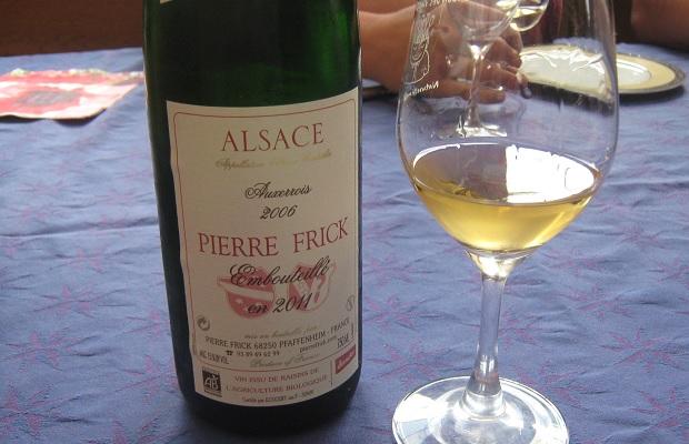 Pierre Frick Auxerrois Carrière 2006 (Embouteille en 2011)
