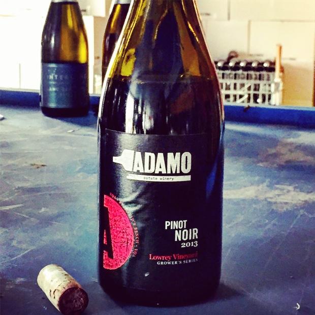 Adamo Pinot Noir Lowrey Vineyard 2013