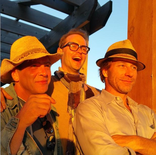 Bill Zacharkiw, Brad Royale and John Szabo at The Good Earth