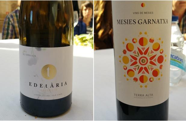 Edetaria Garnatxa Blanca 2013 and Mesies Garnatxa 2014