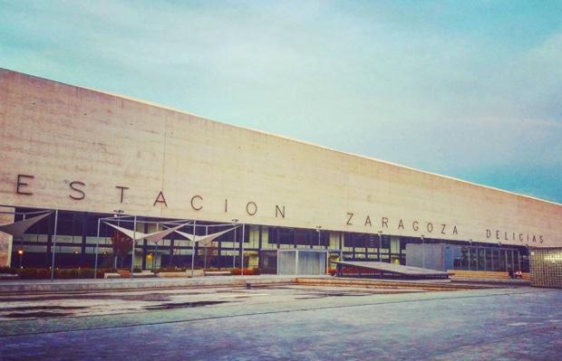 Estación de Delicias de Zaragoza at dusk #CarlosFerrater #aragon #espana