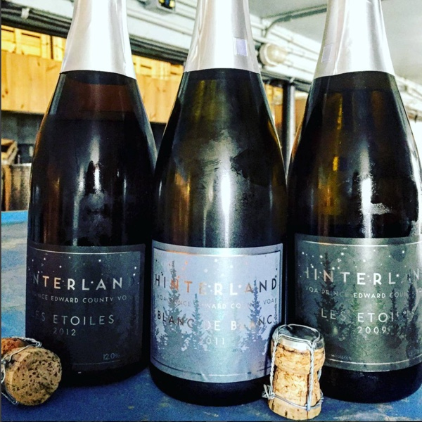 Sparkling wines by Hinterland