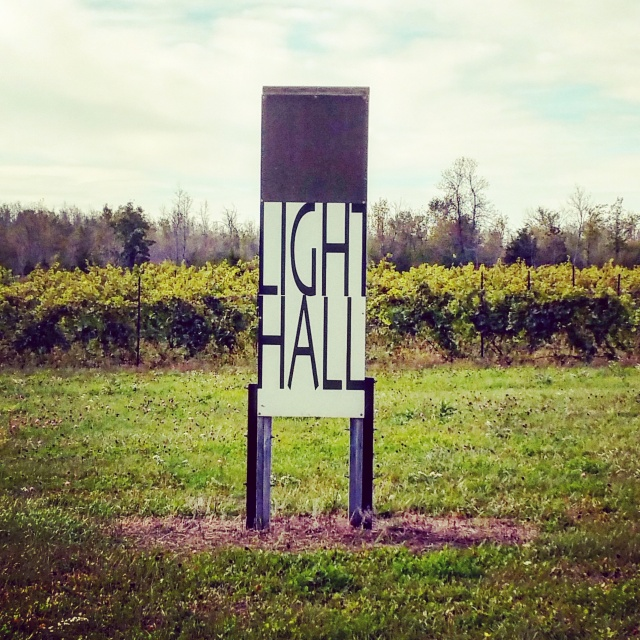 Leave the @lighthallvyard on for 2014's Chard & Pinot. Rooms of their own #vintageofthedecade #aheadbyacentury