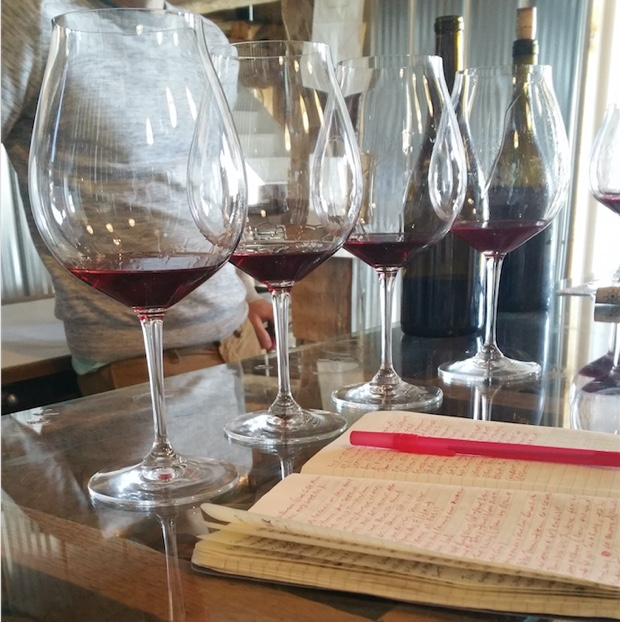 Pinot Noir vertical, The Old Third
