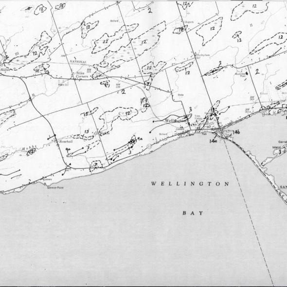 Prince Edward County - West, (c) http://www.geologyontario.mndmf.gov.on.ca/mndmfiles/pub/data/imaging/ARIP172/ARIP172.pdf