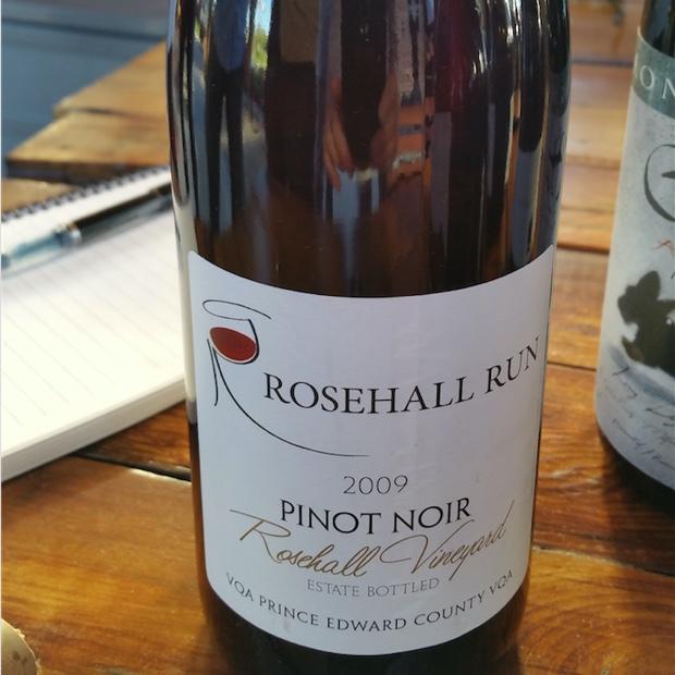 Rosehall Run Pinot Noir Rosehall Vineyard 2009