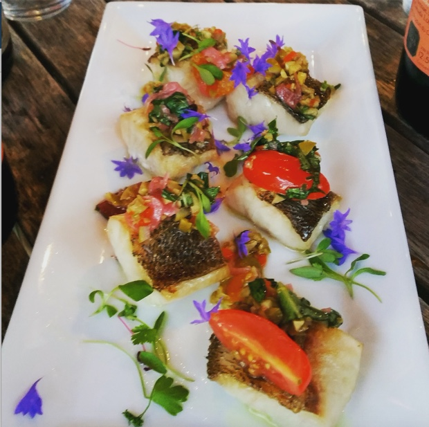 Sablefish by Therese De Grace at The Good Earth Winery