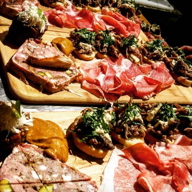 Charcuterie and Appetizers @barquebutchers by the Greek Silver Fox, Chef @JoCastrinos