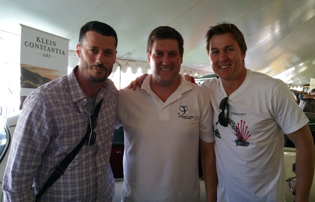 Godello, Leon Esterhuizen and Colyn Truter from Journey's End