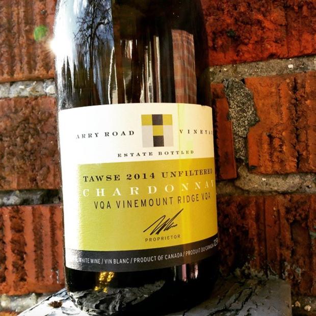 In bottle @Tawse_Winery #quarryroad 2014 #natural soon to tap @barquebbq #chardonnay #naturalwine #unfiltered #paulpender #vinemountridge #niagarapeninsula #vqa #ontwine