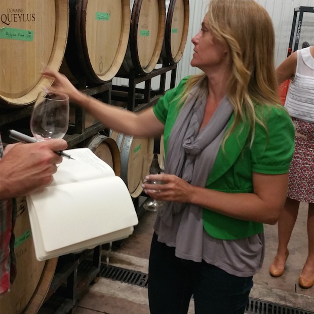 Kelly Mason, assistant winemaker