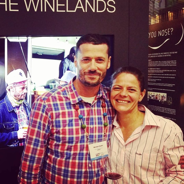 Others would kill for her Pinot fruit and Lizelle Gerber kills it for @BoschendalWines #dgb #DGBinthewinelands