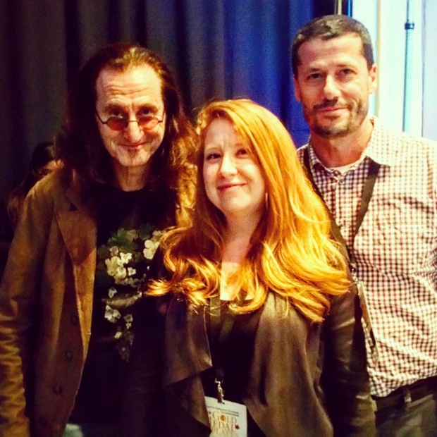 The Legend, the Sommelier and the Godello #geddy #yyz #gmp2015 #goldmedalplates #rush
