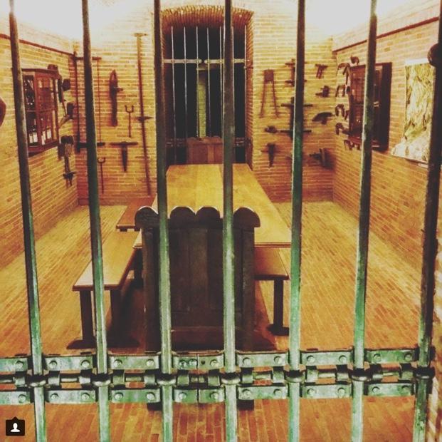 Torture, er tasting room @AnthonijRupert Estate @WOSACanada #toolsofthetrade #franschhoek #mostphenomenaltour