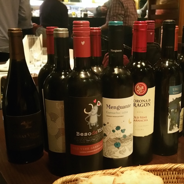 Wines of Cariñena at Restaurante Palomeque