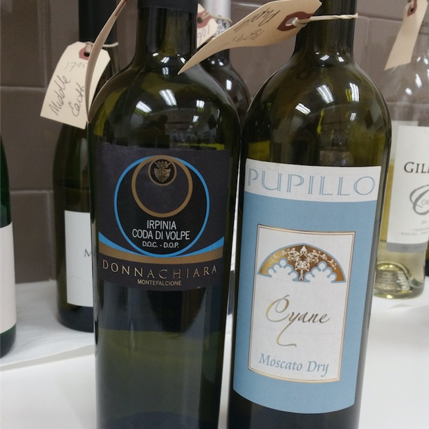 Coda di Volpe and Moscato