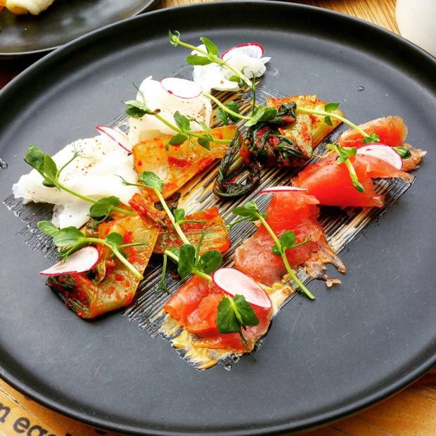 Crudo and Kimchi #tuna #kingclip #chefswarehouse #capetown