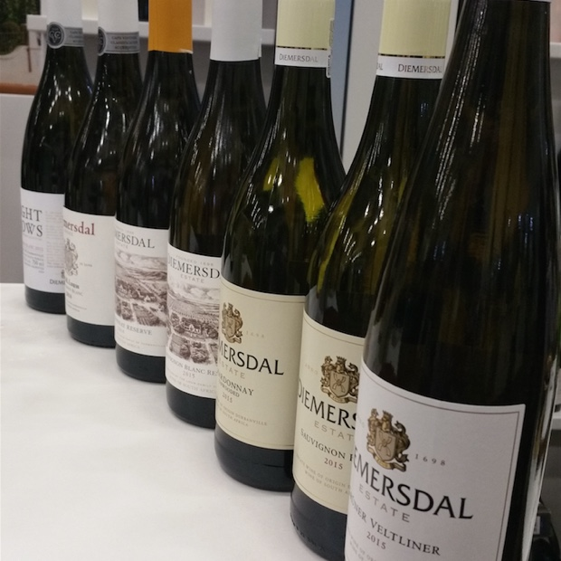 The wines of Diemersdal