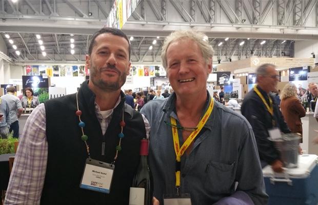 Godello and Billy Hughes at Cape Wine 2015