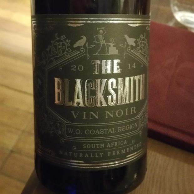The Blacksmith Vin Noir