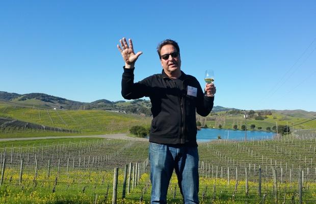 Cuvaison and Brandlin winemaker Steve Rogstad