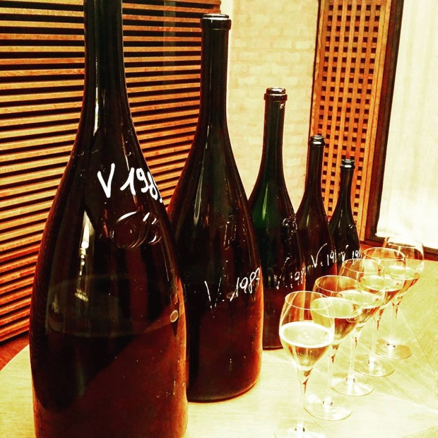 Five little ducks all in a row @BellaVistaVino #anothersongaboutthefizz #franciacorta #largeformats #1987 #1989