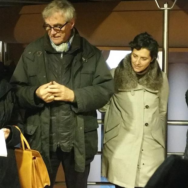 Mattia Vezzola and Francesca Moretti