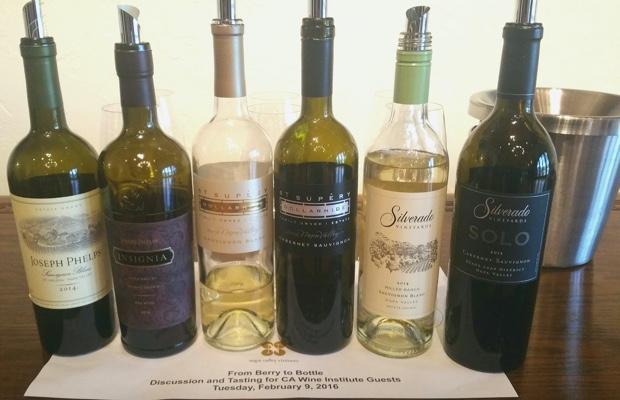 Cabernet Sauvignon and Sauvignon Blanc
