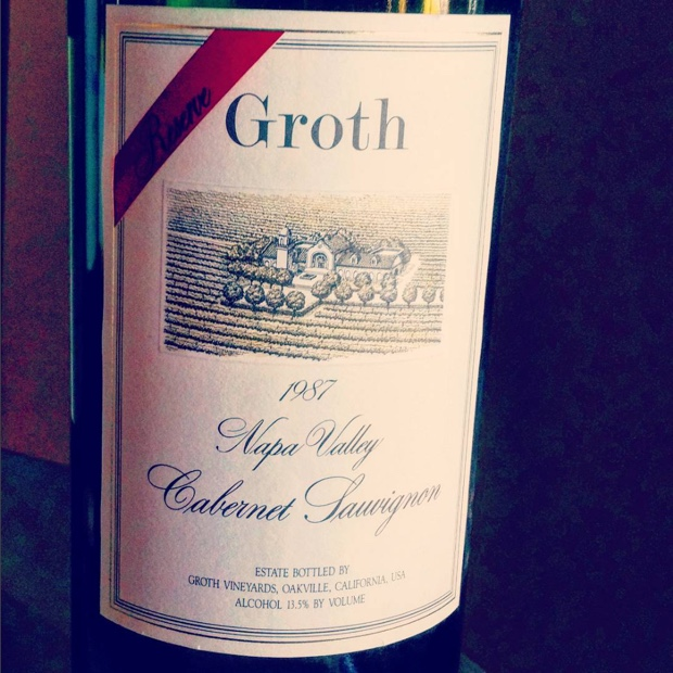 Youthful ingress into back pages of @GrothWines nearly three decades past @NapaVintners @CalifWines_CA #napavalley