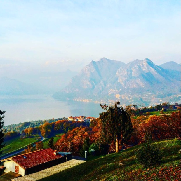 View from Cure post sublime hike up #monteisola #lakeisland #brescia #lombardia #monasteriasansalvatore