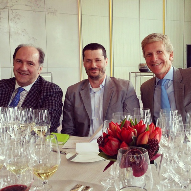 Pablo Alvarez, Vega Sicilia with Godello and Larent Drouhin, Maison Joseph Drouhin